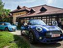 Noul MINI Hatch şi noul MINI Cabriolet debutează în România cu un proiect de artă