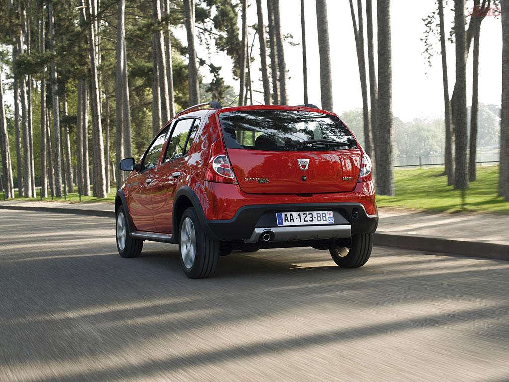 Фотографии Dacia Sandero Stepway Фот…